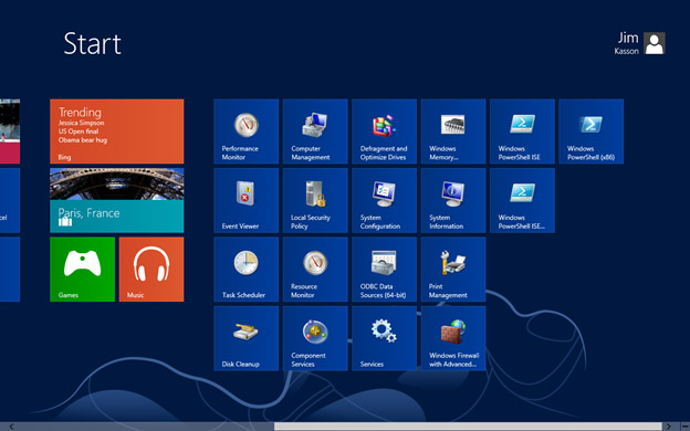 how to find disk cleanup on windows 8